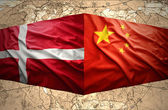 Denmark and China — Stock Photo