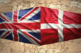 Denmark and United Kingdom — Stock Photo
