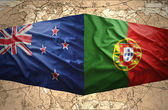 New Zealand and Portugal — Stock Photo
