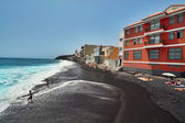 Beach in the city of Candelaria — Stock Photo