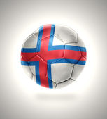 Faroe Islands Football — Stock Photo