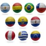 South American Football — Stock Photo