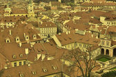 Roofs of Prague — Stock Photo