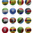 African Football from R to Z — Stock Photo