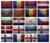 European countries from A to G — Stock Photo