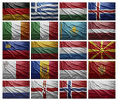 European countries from G to P — Stock Photo