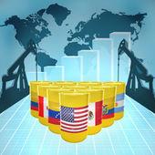 American Oil Power — Zdjęcie stockowe
