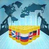 European Oil Power — Foto Stock