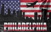 View of Philadelphia City — Stock Photo