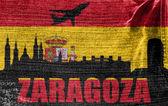 View of Zaragoza — Stock Photo