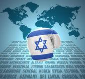Israeli Fist — Stock Photo