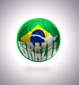 Brazilian Football — Stock Photo