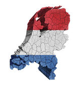 Dutch Map — Stock Photo