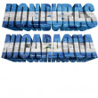 North America countries (From H to U) flag words — Stock Photo #51044893