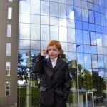 Businessman boy — Stock Photo #7803523