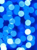 Flou lumières, défocalisé fond blanc, bleu. — Photo