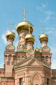 Kyjev svaté ochrany šuljavska desert. ukrajinské pravoslavné chur — Stock fotografie