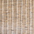 Background of woven rattan wood — Stock Photo