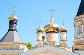 Kiev et religion. Sainte Église de l'intercession sur solomenko. — Photo