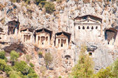 Lycian tombs  - Landmark Turkey — Stock Photo