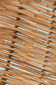 Background  rattan parasol of wicker — Stock Photo