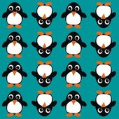 Seamless animal pattern background — Stock Vector