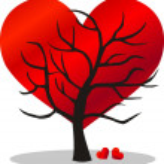 Valentines day love — Stock Vector