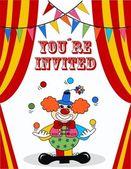 Invitation anniversaire — Vecteur