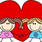 Valentines day love friendship — Stock Vector