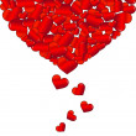 Valentines day love — Stock Photo