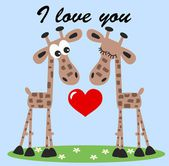 I love you — Vector de stock