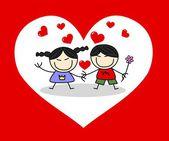 Dia dos namorados ou outra celebração de amor — Foto Stock