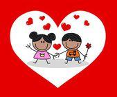 Valentinstag oder andere liebe-feier — Stockfoto