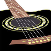 Acoustic guitars — Stock Vector