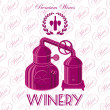 Stock Vector: Winery