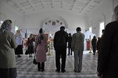 Gottesdienst in der russischen kirche in jerewan — Stockfoto