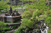 Sacred Monastery of Geghard in Armenia — Stock Photo