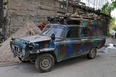 Tuned Soviet retro car, Armenia — Stock Photo