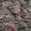 Texture wall of castle — Stock Photo