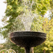 Drops and spray of fountain — Stock Photo #34173451