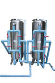Water system two tank — Stock Photo