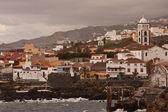 Garachico vesnice, tenerife, kanárské ostrovy, španělsko — Stock fotografie