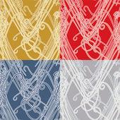 Patrón abstracto de malla — Vector de stock