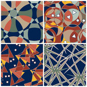 Abstract Patterns Set — Stock Vector