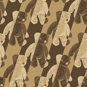 Teddy Bear Background — Stock Vector