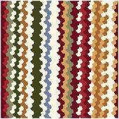 Colorful Zigzag Stripe Pattern — Stock Vector