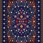 Floral Carpet — Stock Vector #39964681