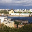 August in Nizhny Novgorod Russia - Stock Photo