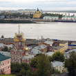 September view port Strelka Nizhny Novgorod — Stock Photo