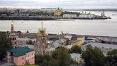 Septembre découvre port strelka nijni novgorod — Photo